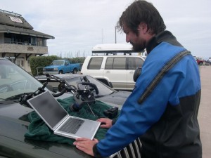 After a good long working dive, there's nothing I like to do more than blog it.  Immediately.